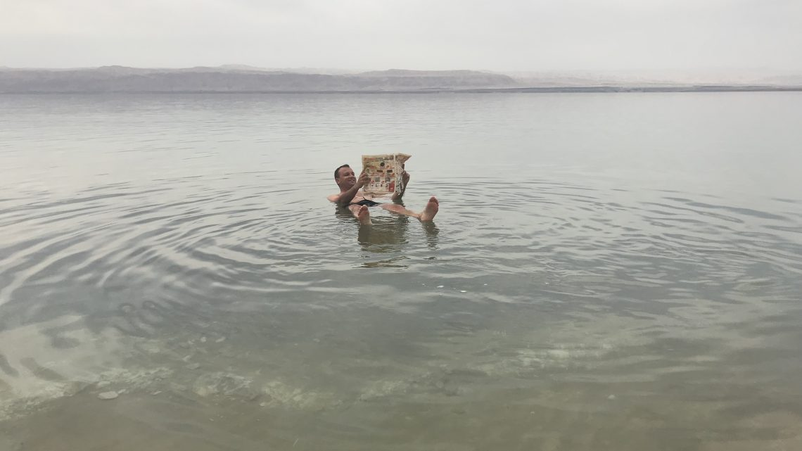 Mar Morto o Ponto Mais Baixo do Planeta Terra – Jordânia