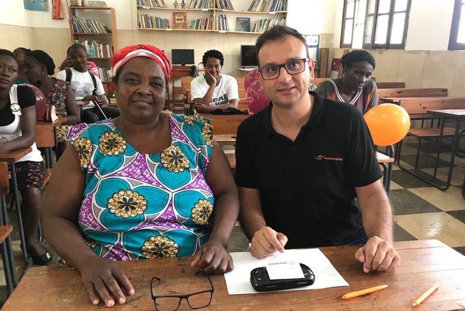 Missão Solidária São Tomé e Príncipe – A sempre bem disposta Dona Augusta