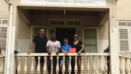 Missão Solidária São Tomé e Príncipe – Marisa da Costa, uma dedicatória a todos os clientes Maxivisão