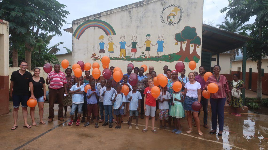 Missão Solidária São Tomé e Principe  Parceria ICreate – Dias felizes com pessoas felizes